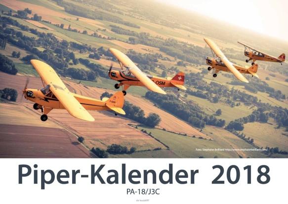Piperkalender 2018 Titelbild