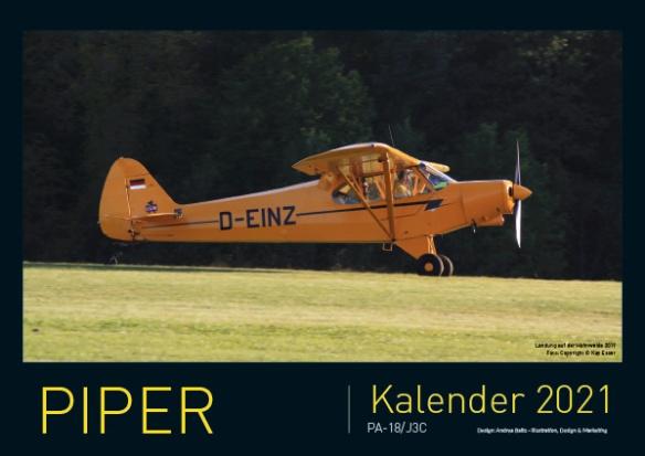 Piperkalender 2021 Titelbild